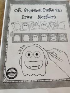come disegnare un mostro