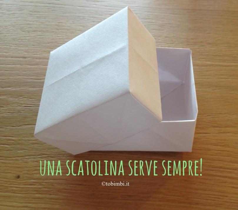 Scatolina di origami…. Foto-tutorial!