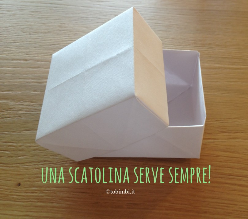 Top Scatolina di origami…. Foto-tutorial! – T.O. Bimbi XI25